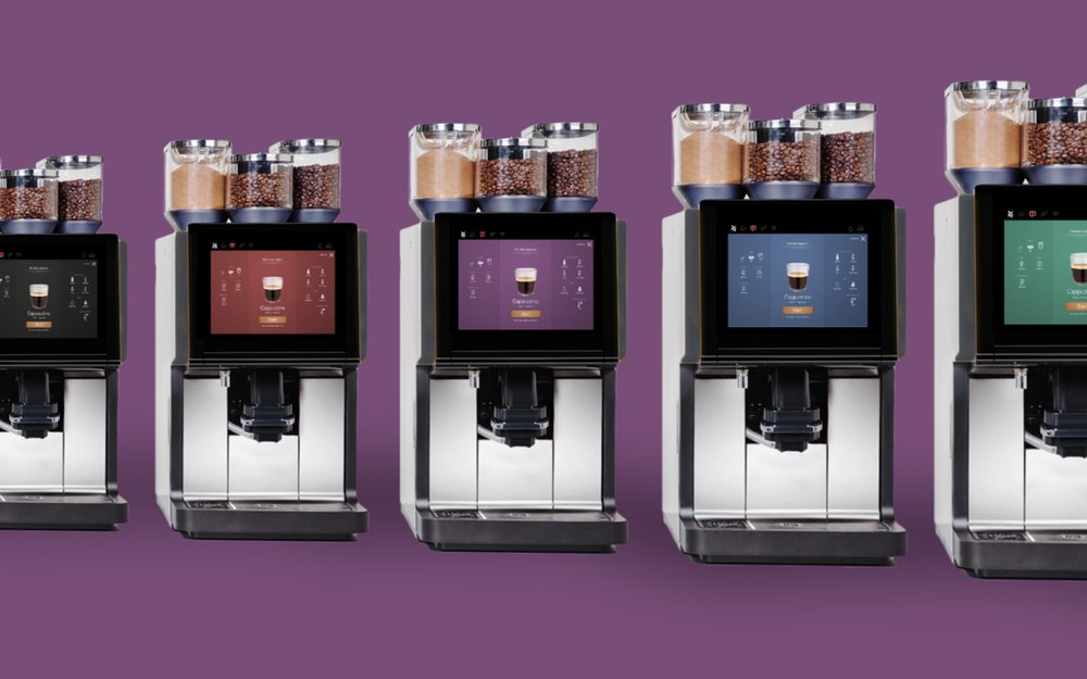 User experience and interface design for the next generation of WMF professional and consumer coffee machines  2015 | WMF | 4 months runtime