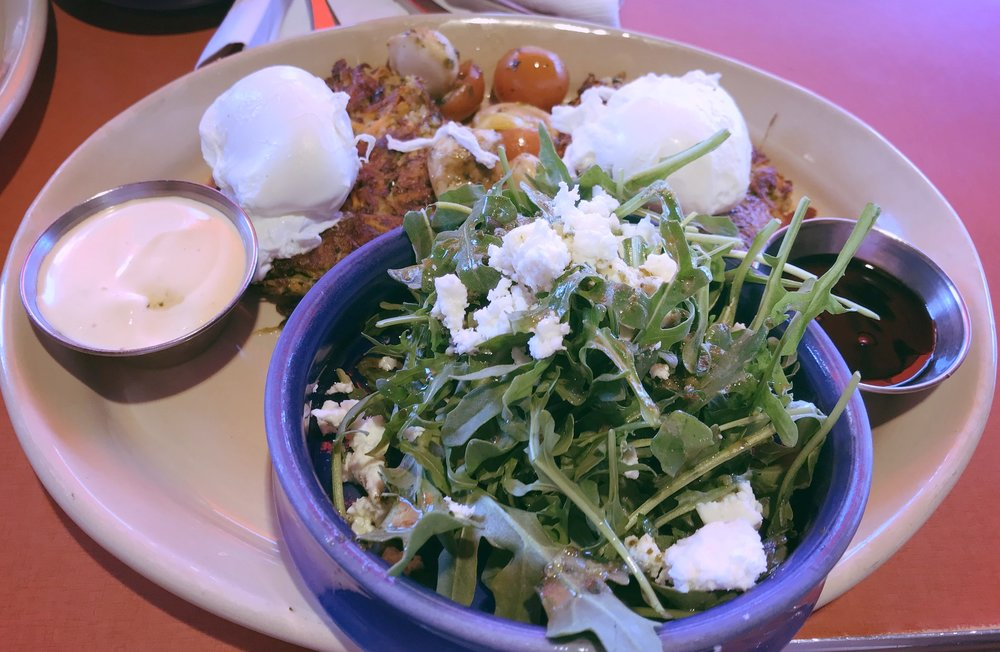 Snooze an a.m. eatery - When your 1PM feels like 8AM.. Snooze serves breakfast options until mid-afternoon. Get yourself an eggs benny and maybe a hair of the dog.. it's guaranteed to get you back on your feetLocation: Scottsdale