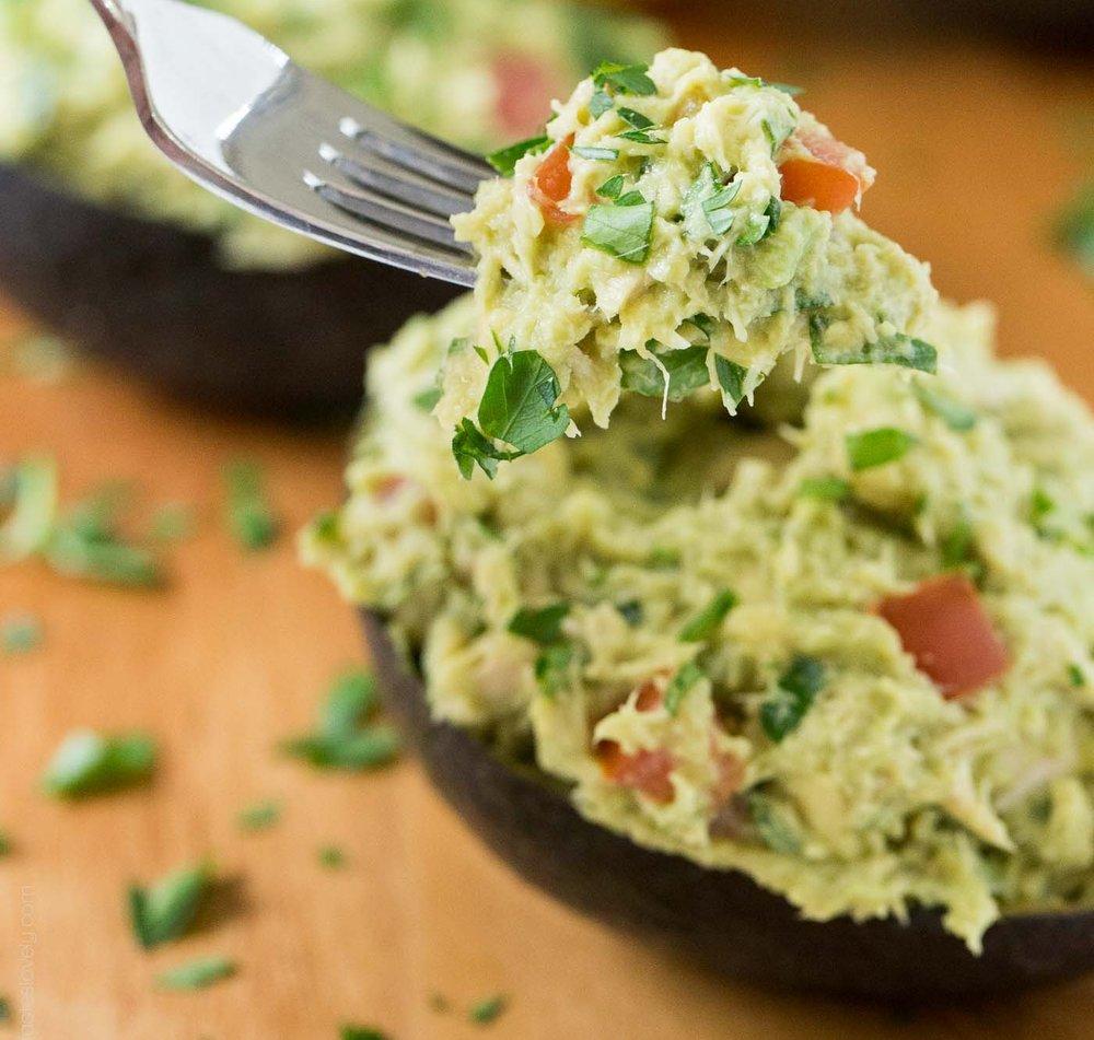 Tuna Avocado boats - Recipe by: Tastes Lovely
