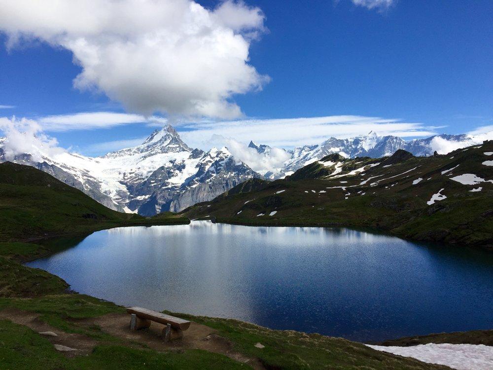 Bachalpsee lake -