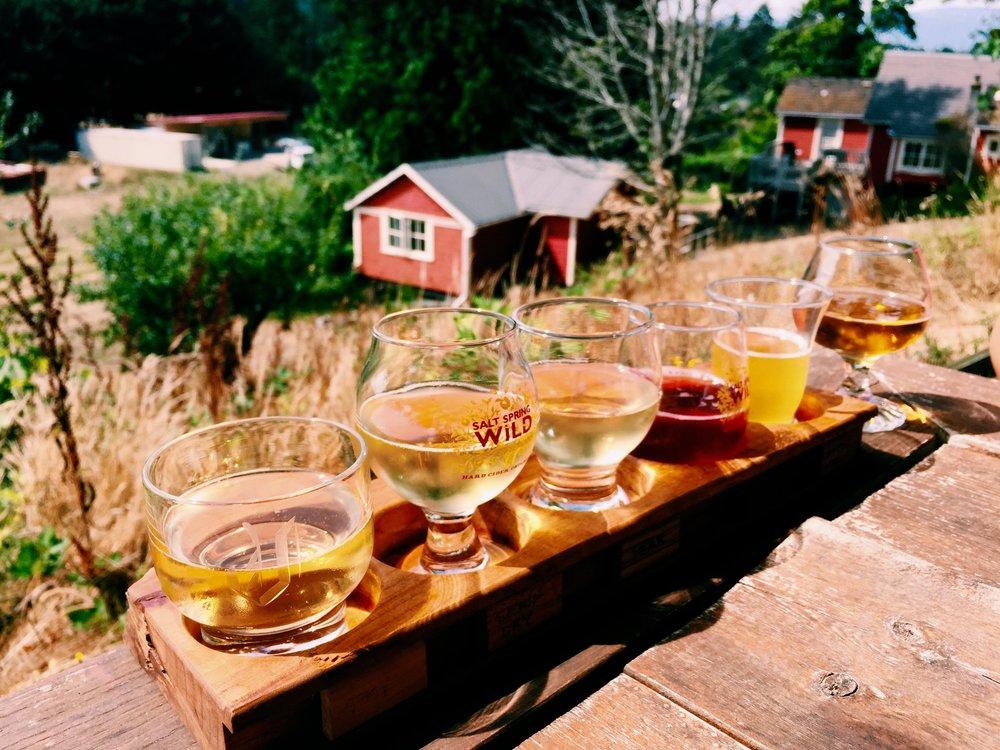 Salt Spring Island Cidery