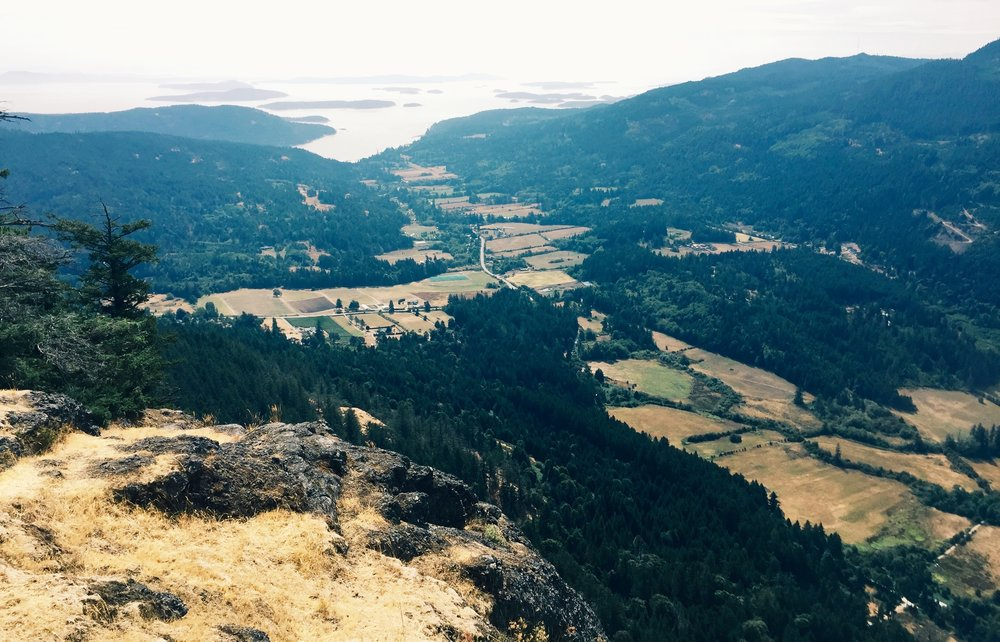 View from Mt. Maxwell, Salt Spring