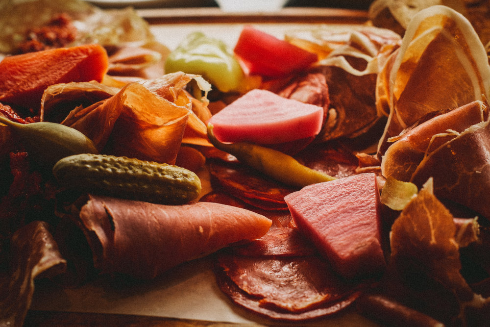 Bar Oso Charcuterie Board