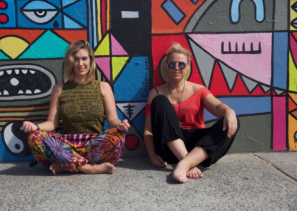 Long-time soul sisters. - Deep House Yoga Project launched in Sydney in 2017 and since then has expanded to urban venues and festivals across NSW and Europe.Celtic duo Saoirse Connolly and Jen Stallard curate classes anywhere from underground nightclubs to open air rooftops. They aim to awaken joy, love and connection everywhere they go.Wherever they lay their mat (and can find a pumping sound system) that's their home.They are a staple at NSW's premier music festivals including Subsonic and Lost Paradise and in 2018 brought their magic to the ultimate playground, Burning Man.
