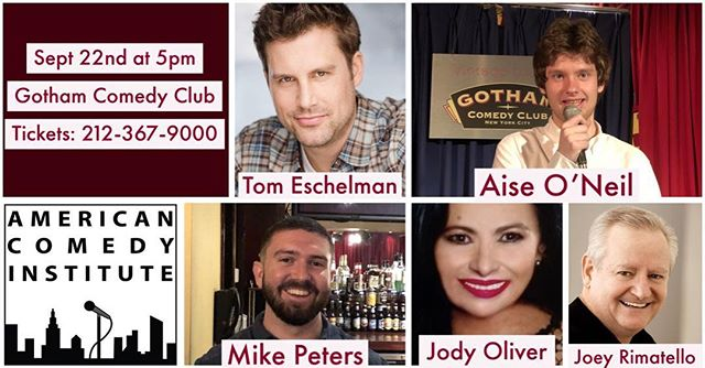 #saturdaynight @gothamcomedy tickets: 212-367-9000 #standupcomedy #laughteristhebestmedicine #nyc #nightlife #regrann #repost