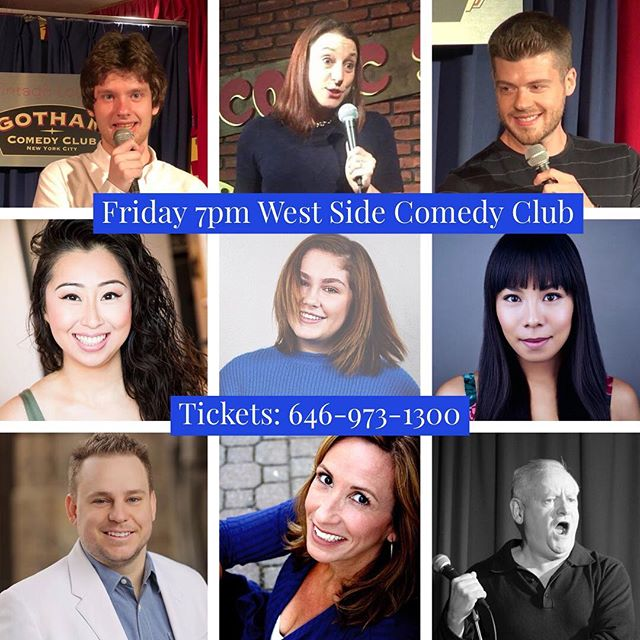 #fridaynight #standupcomedy  at @westsidecomedyclub with these fine folks plus more! #nyc #nightlife