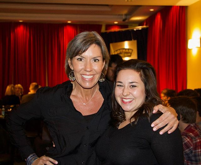 No better #mondaymotivation than these two amazing people! On the left is one of our lovely students, @kcblanch, and on the right is our superbly talented director of operations, @micaela_fagan! I'm blessed to know them both. 📸: @davidchrem  #standupcomedy #comedy #comedyclub #comedian #improv #sketchcomedy #comedyposts #comedyshow