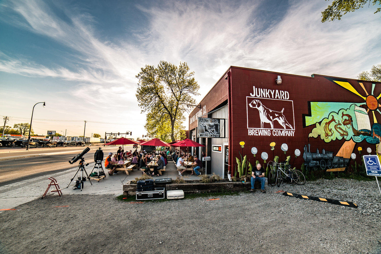 Junkyard Brewing Company | Small craft brewery in Moorhead, MN