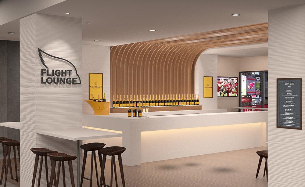 Flight Lounge Bar Interior Design