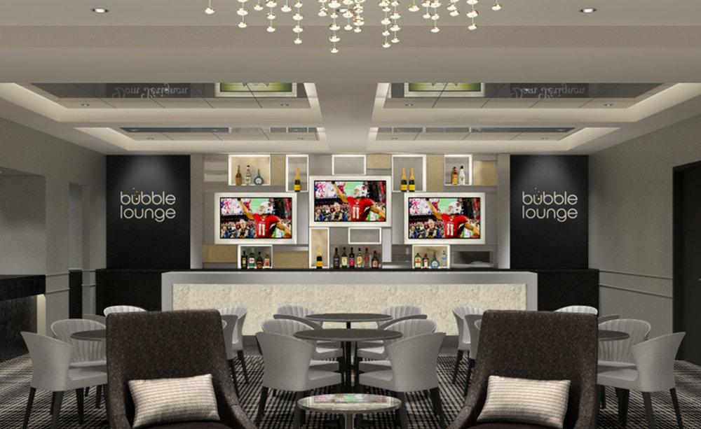 Bubble Lounge Bar Interior Design