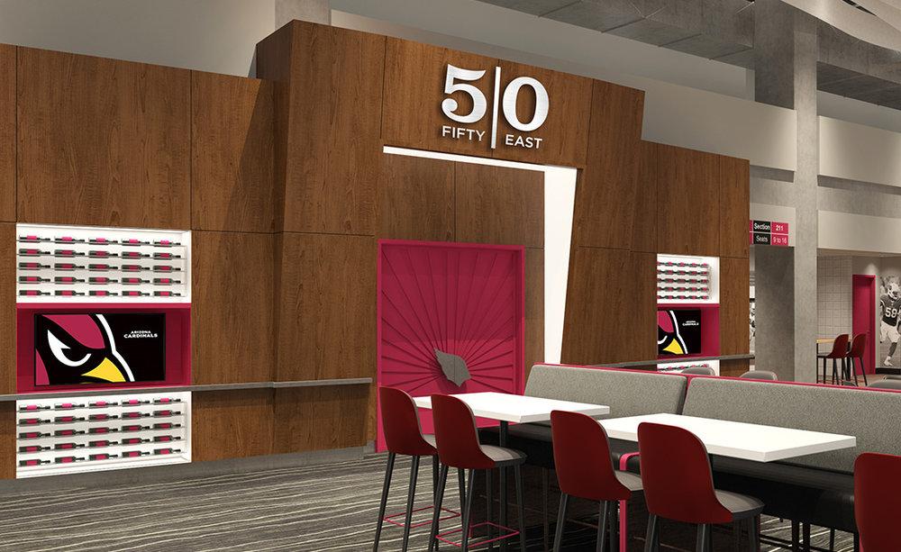 Fifty East Club Interior Design