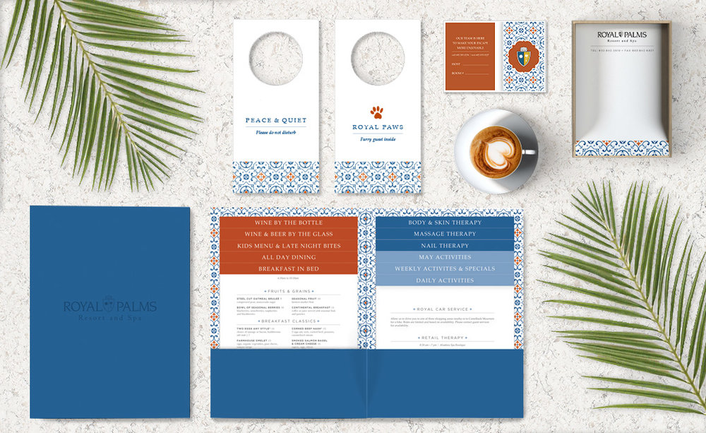 Royal Palms Hotel Branding