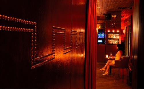 Merc Bar Interior Wall Detail