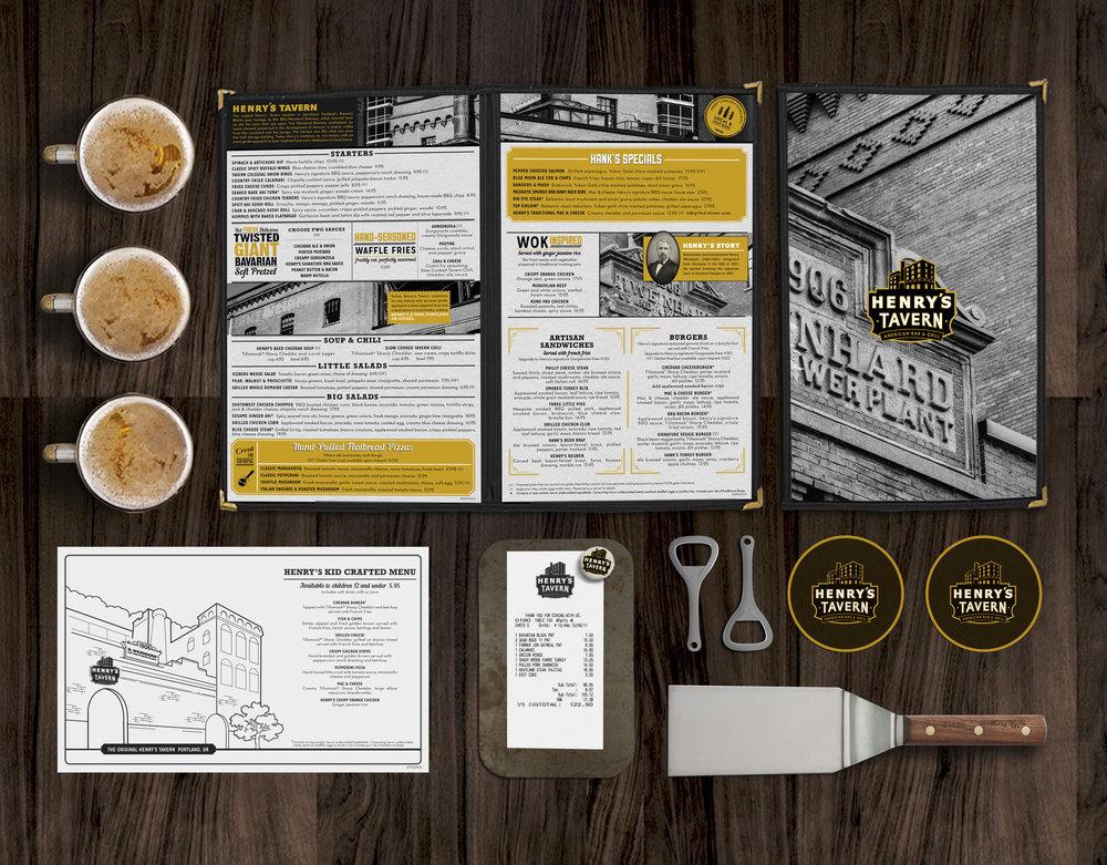 graphics +collateral - Packaging DesignMenu DesignSignageEnvironmental GraphicsUniformsRetailLogosGraphicsPrint Materials