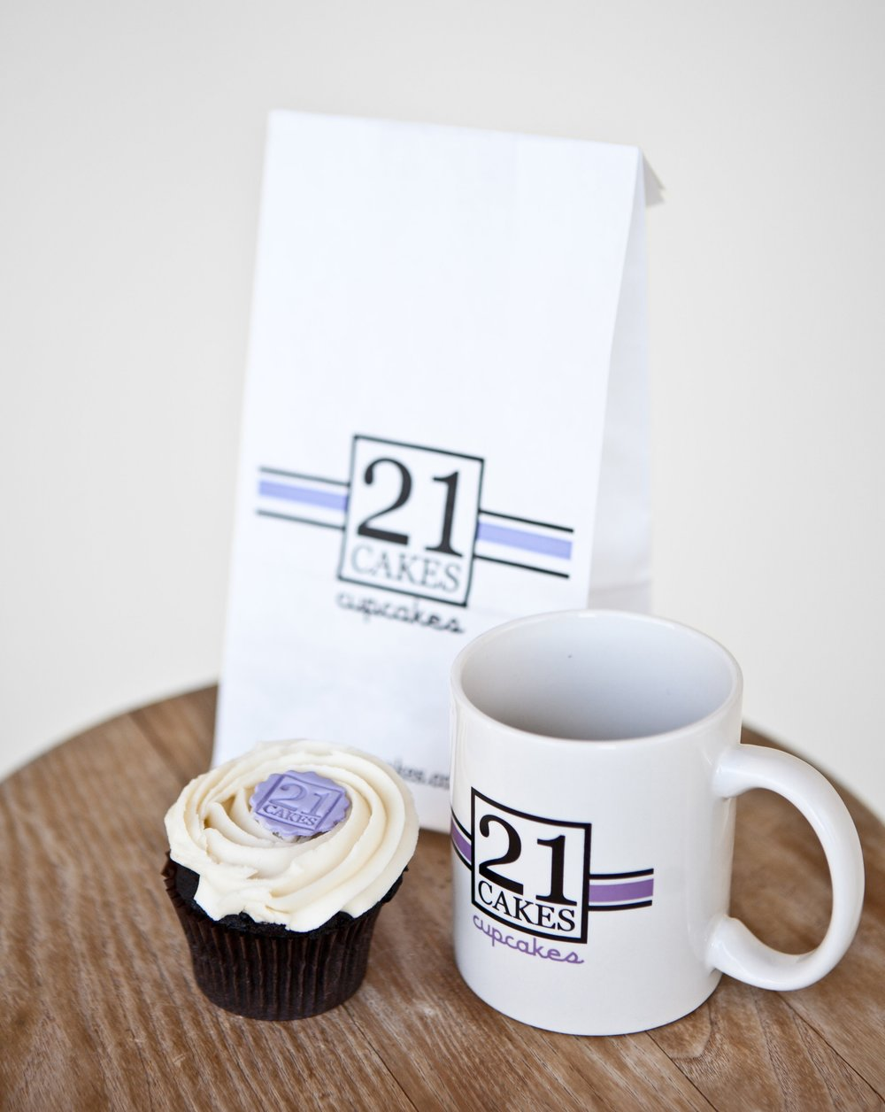 Bar Napkin Productions 21 Cakes Branding Collateral