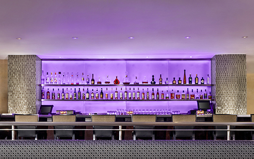 Restaurant Bar Palms Casino interior design