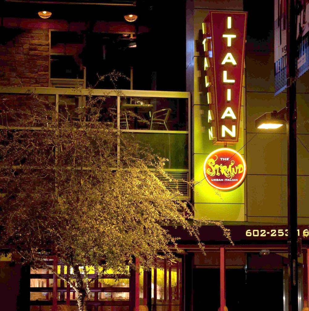 Restaurant Exterior Signage Design