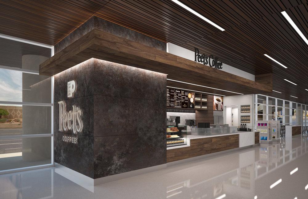 Terminal 3, Phoenix Sky Harbor // BNP 3D Rendering