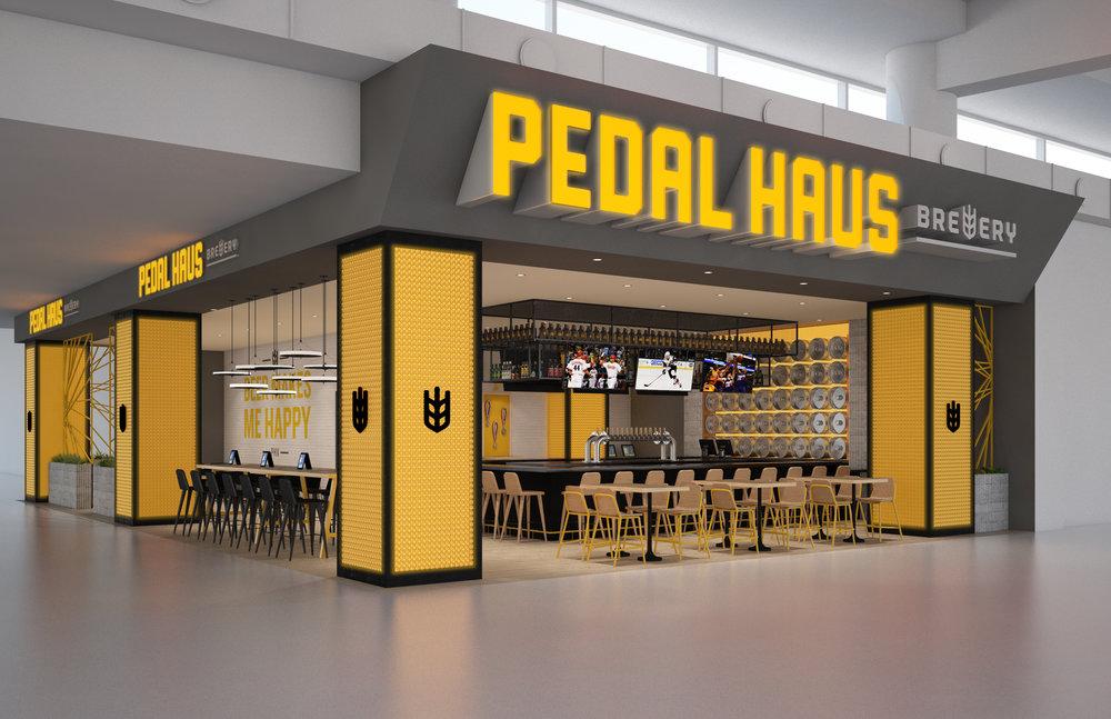 Pedal Haus Brewery, Phoenix Sky Harbor Terminal 3
