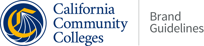 The California Community Colleges Brand