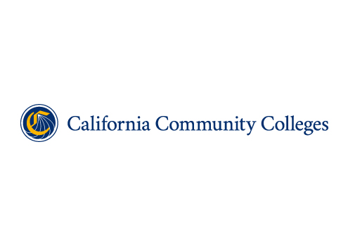 Graphic showing the horizontal California Community Colleges logo