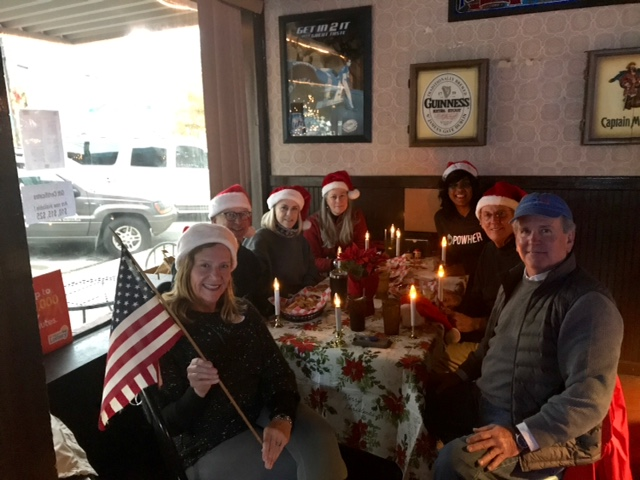 John and friends preparing for the Burgaw Christmas Parade
