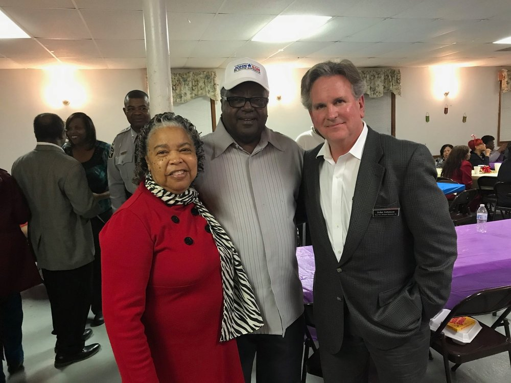 Strong Columbus County Democrats and John
