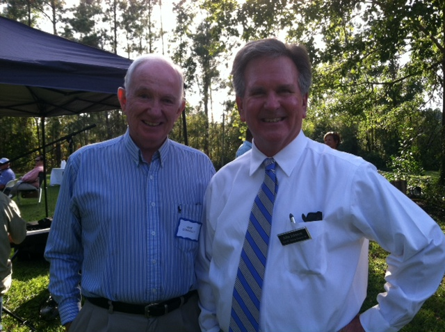John and his Communications Director, Mike Connolly