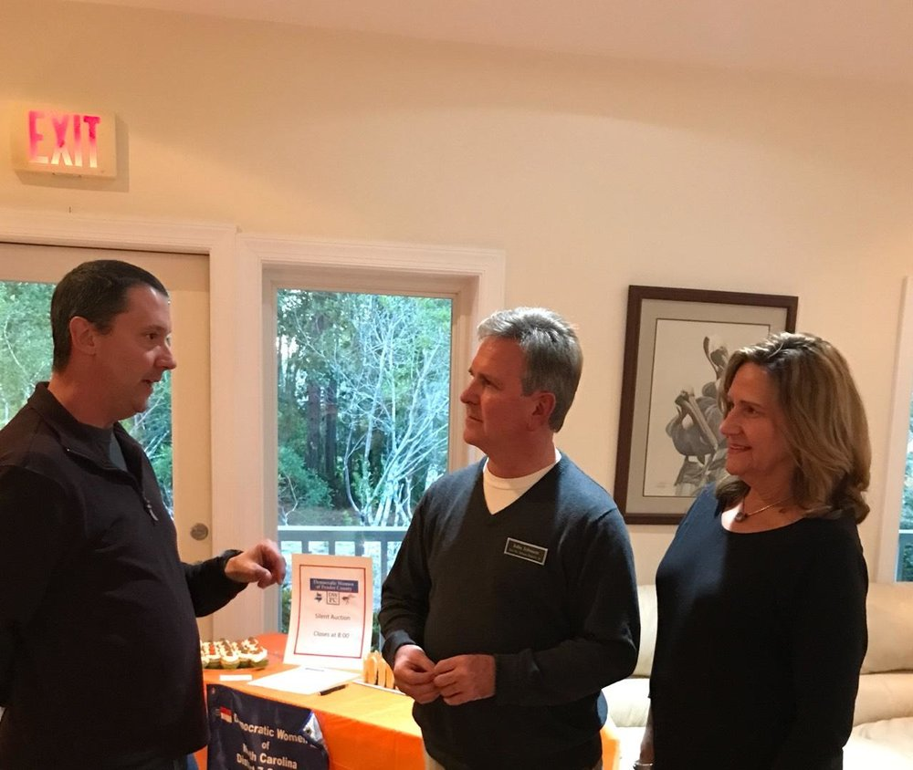 Meet & Greet with constituents at Pelican Reef