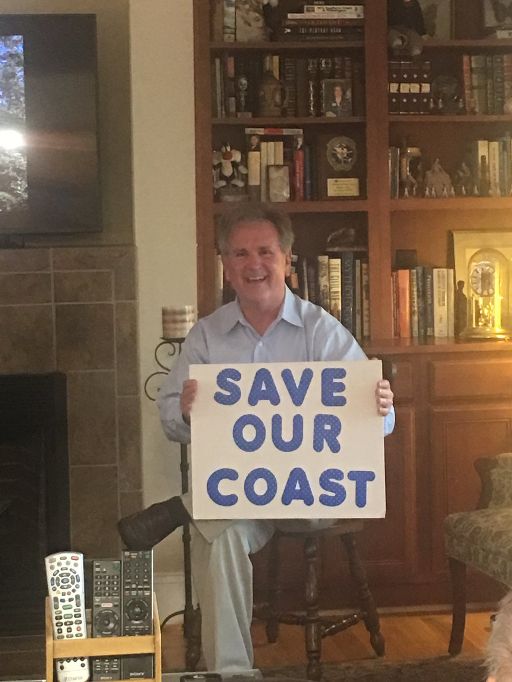 If you oppose offshore drilling...this is your candidate!