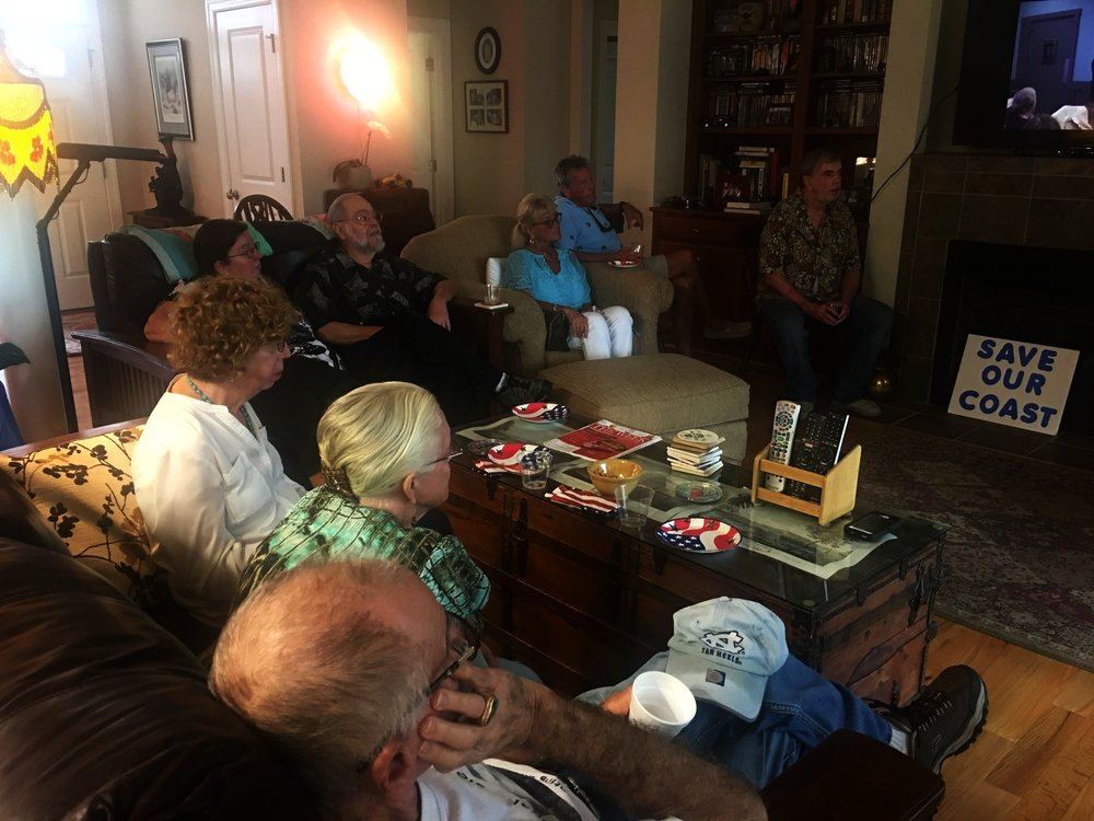 Great group of thoughtful citizens a Meet & Greet in Hampstead