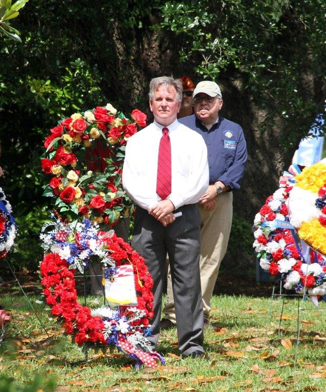 This was a very somber event to  commemorate our country's fallen