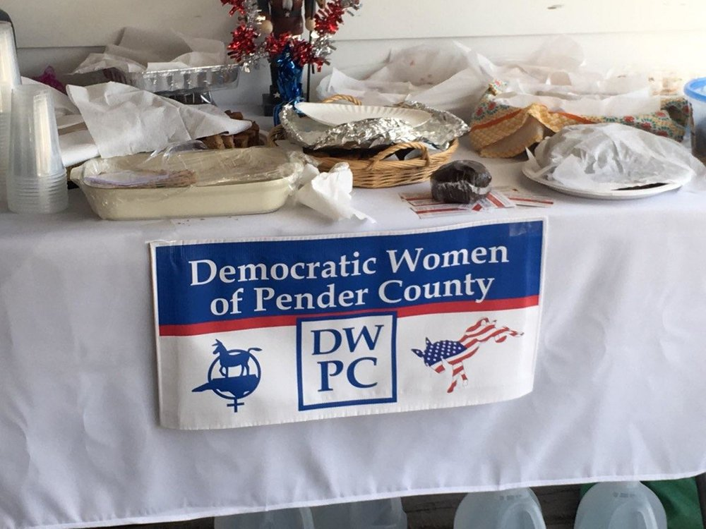BIG thanks to the members of the Democratic Women of Pender County always lending a hand when needed