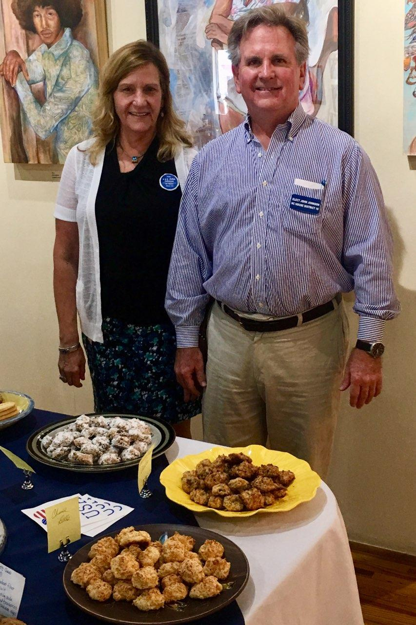 Many thanks to the Democratic Women of Pender County for the delicious baked goods