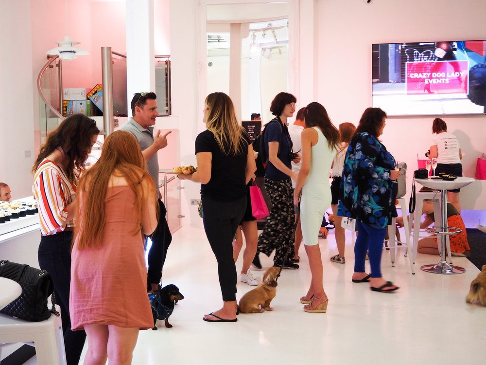 - What: Puppies and Prosecco Summer Party, hosted byWhere: The Ice Tank, Covent GardenWhen: 21st July 2018 - more event coming soon.