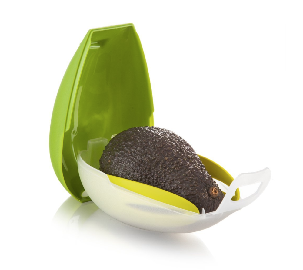 1.The Avocado Carrier - Do you always struggle to eat avocados on the go? Wish there was an easier way? Well this handy device allows you to transport this tasty treat without damaging it and it even comes with an awesome cutlery set - so you don't have that to worry about that either… winning!