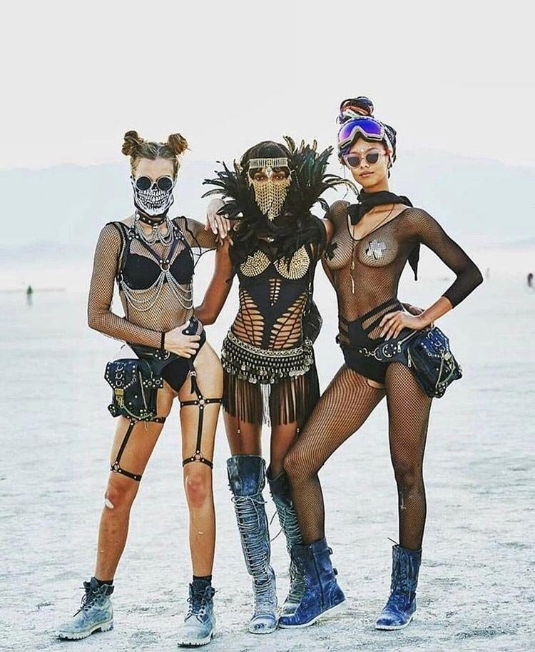 burning man zombie apocalypse - Everyone knows that if your attending Burning Man festival, you have to be free & look your best! The festival costumes look as though they have been created for an apocalypse film. So we created the Burning Man Zombie Apocalypse Halloween.BUY BELOW