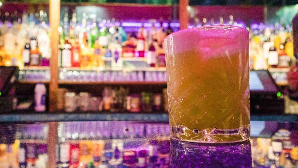 SMOKE ON THE WATER - SMOKY, STRONG, SOUR, MOREISH | SHORTJack Daniel's Tennessee whiskey, Talisker 10YO, fresh lemon juice, orange marmalade, egg white, bacon©️JadeMadgwickPhotography