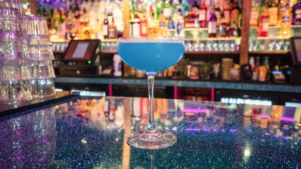 PURPLE HAZE - PARMA VIOLETS, BALANCED, SWEET, FOXY | COUPEBombay Sapphire gin, violet liqueur, fresh lemon juice, sugar, egg white, parma violets.©️JadeMadgwickPhotography
