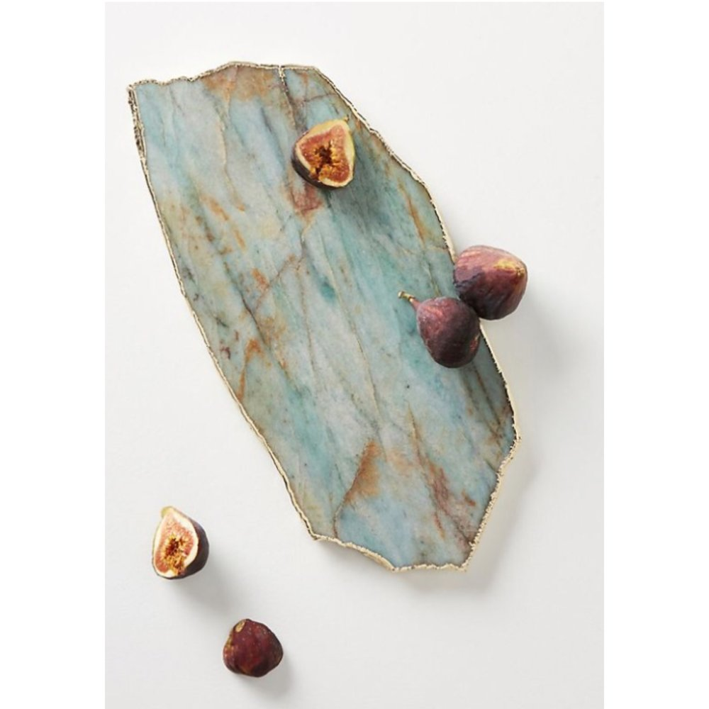 Agate Cheese Board - A bit more Camembert than Cheddar - then this board is for you.£:68Where: Anthropologie