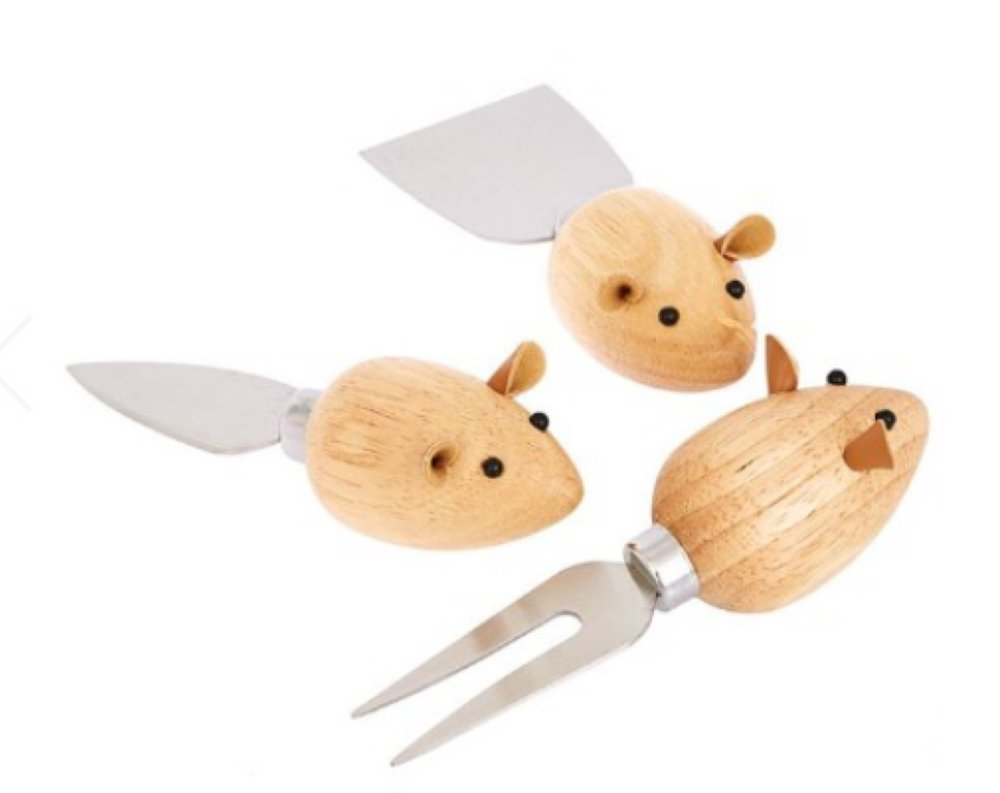 Mice Cheese Knives - Who doesn't love a novelty set of knives?£:20Where: Joy