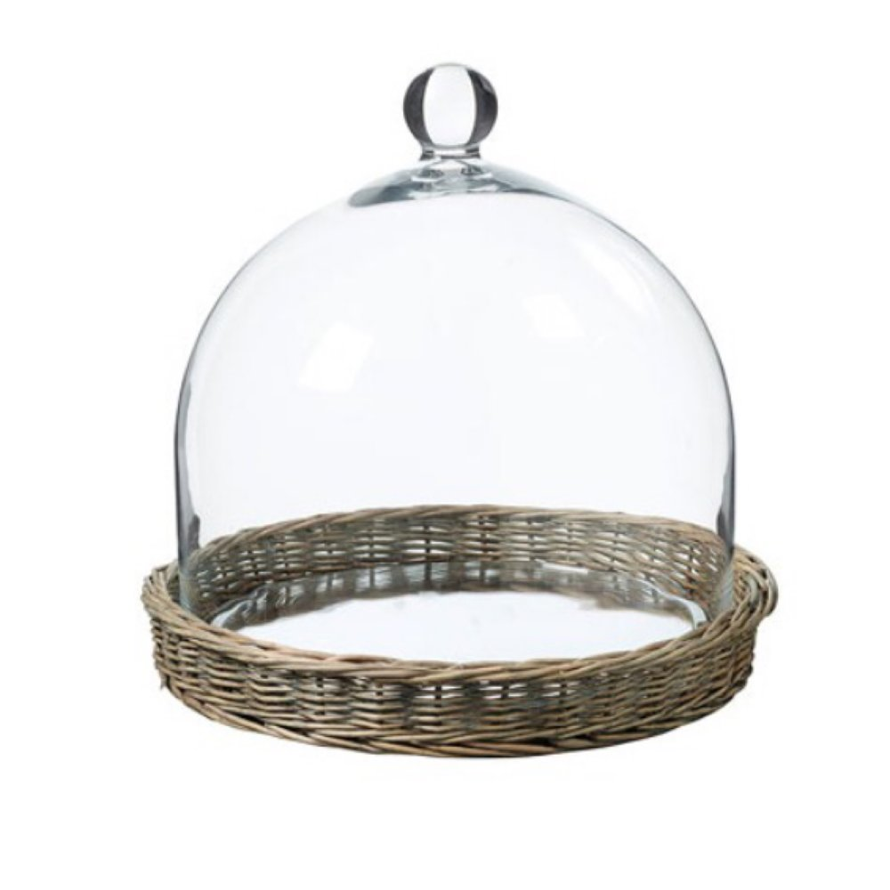 Glass Cheese Dome - Keep your cheese fresh in this stunning dome.£:25Where: Oka