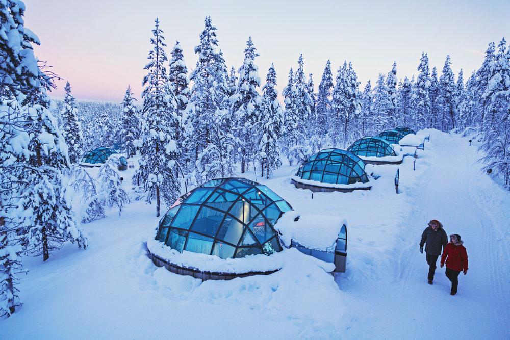©️ Valtteri Hirvonen + Kakslauttanen Arctic Resort