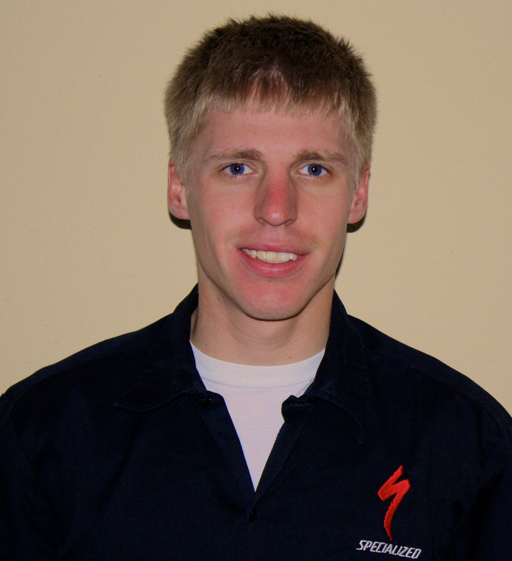 David Carpenter - BirthdayJune 15, 1990HometownNorwalk, IowaHobbiesCycling, Rock Climbing, Running, CampingSpecialtiesCycling, Triathlon, Running, Swimming, Strength TrainingExperienceDavid has been coaching since 2009. He started out as an assistant coach for a U23 Triathlon team. BackgroundDavid is currently a Cat 1 Road Cyclist. He also competes in endurance mountain bike events along with the occasional triathlon. Certifications/EducationUSA Cycling (Level 3), USA Triathlon (Level 1), B.S. Middle Tennessee State University (Exercise Science)Favorite Quote