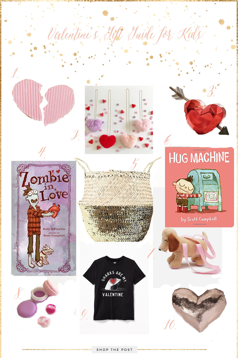 Valentines Gift Guide Kids Edition The Rose Academie