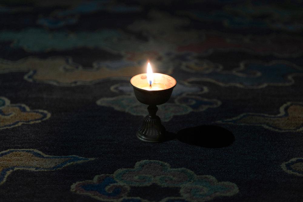 Butter lamp, Tibetan Rugs, Innerasia Rugs.jpg