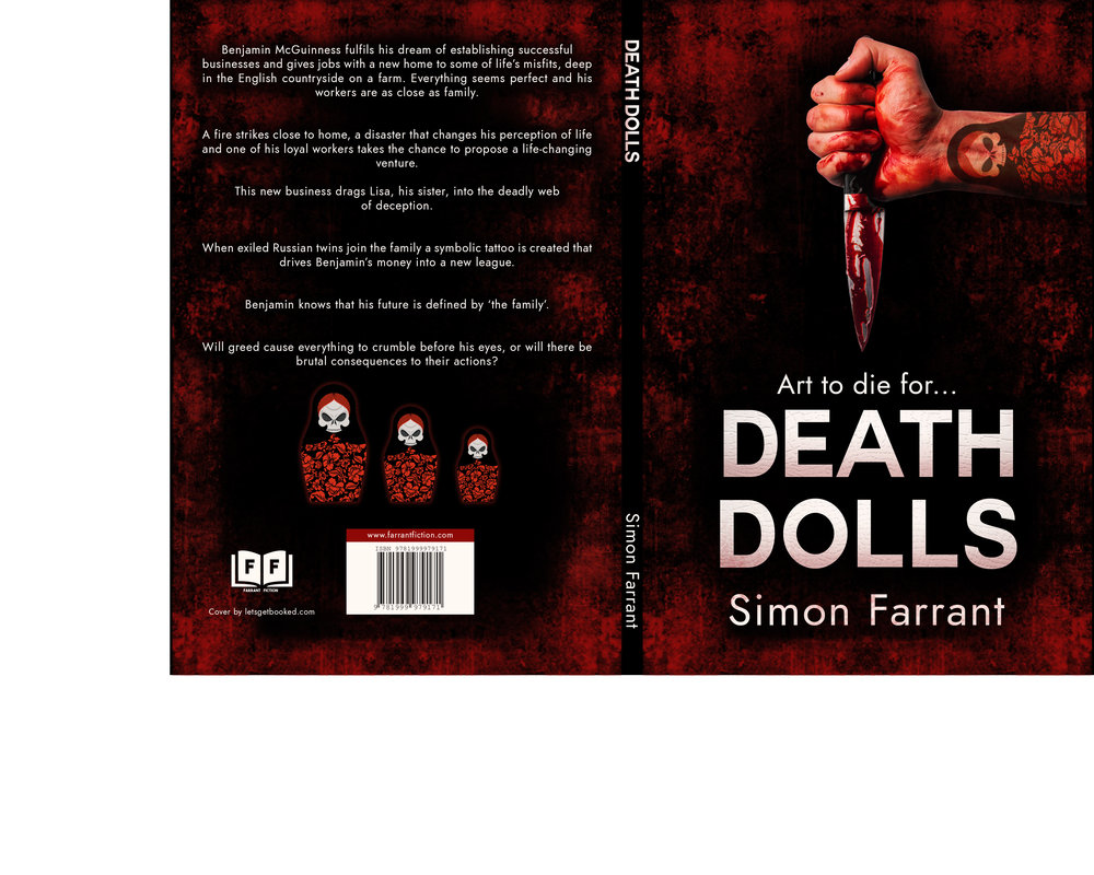 Death Dolls paperback cover - I love the dolls!