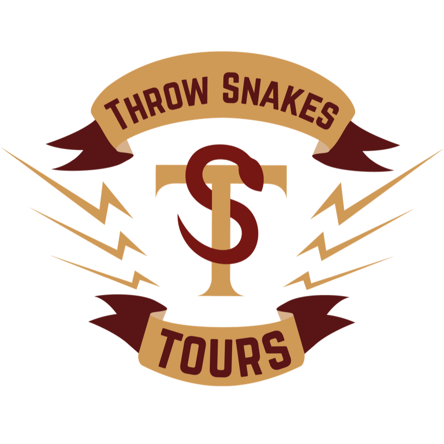 Throw Snakes (verb): to do something memorable and unexpected.     Throw Snakes Tours provides tours of Portland with it's biggest fan. Interact with locals where the locals go.