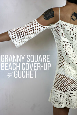 Crochet Swimsuit Cover Up Pattern Crochet Pattern By Guchet