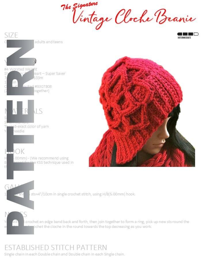 Hats Crochet Pattern By Guchet
